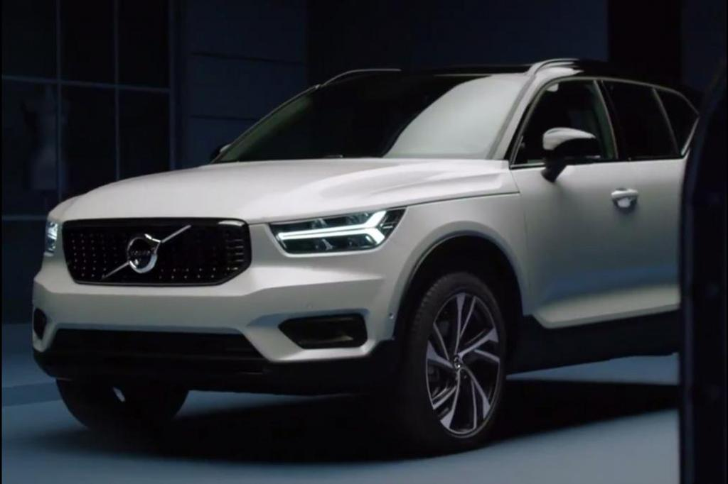 2018 Volvo Xc40 Leaked Ahead Of Reveal Motoring
