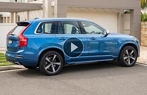 Volvo Xc90 T6 R Design 2019 Review Motoring Com Au