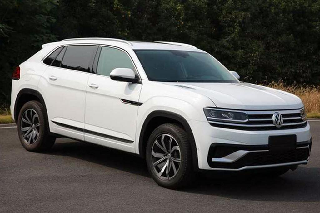 2020 Volkswagen Atlas Cross Sport Leaked Motoring Com Au