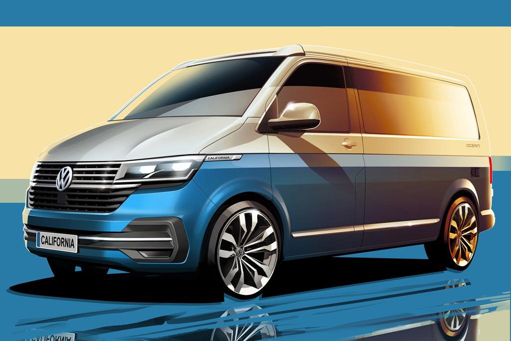 Vw California Camper >> Updated Volkswagen California 6 1 Camper Teased Motoring Com Au