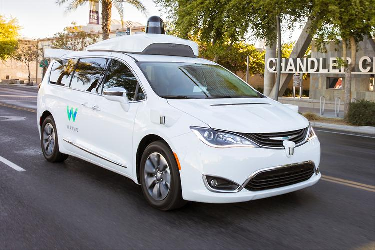 Waymo prototype crashes in Arizona, though not at fault