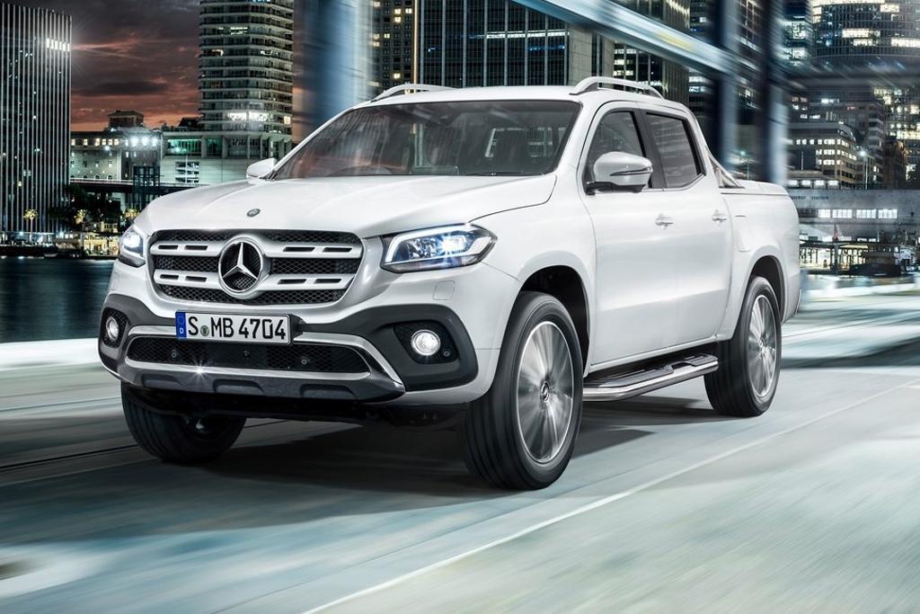 Volkswagen mocks mercedes benz ute for Mercedes benz volkswagen