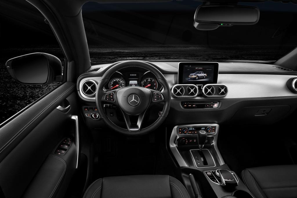 Geneva Motor Show Mercedes Benz X Class V6 Outlined Motoring Com Au