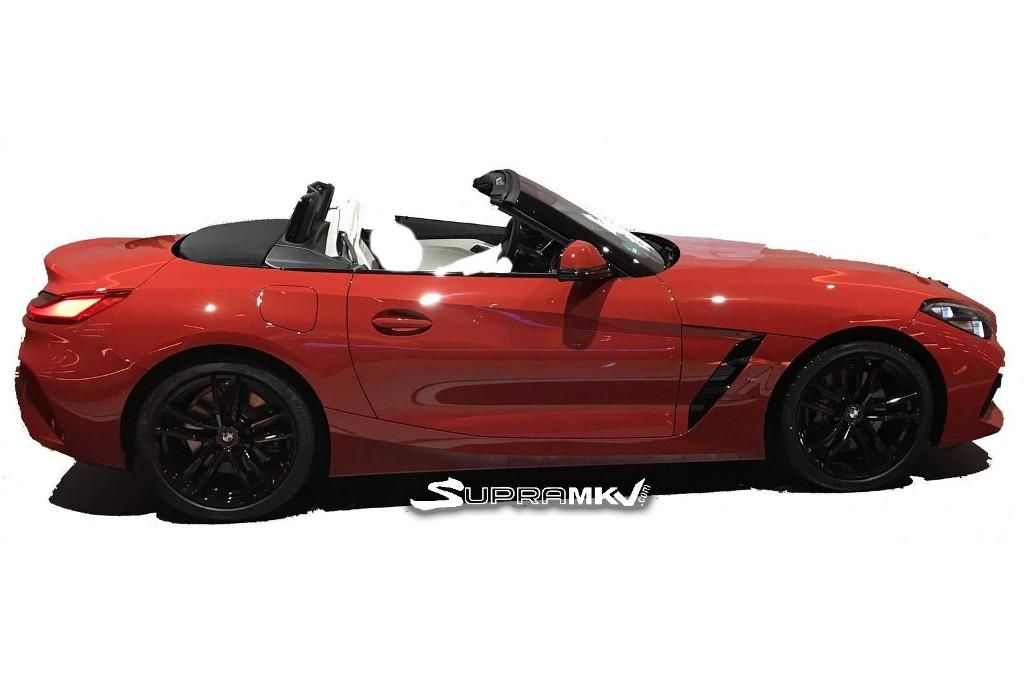 Leaked New Bmw Z4 To Keep Concept Car Styling Motoring Com Au