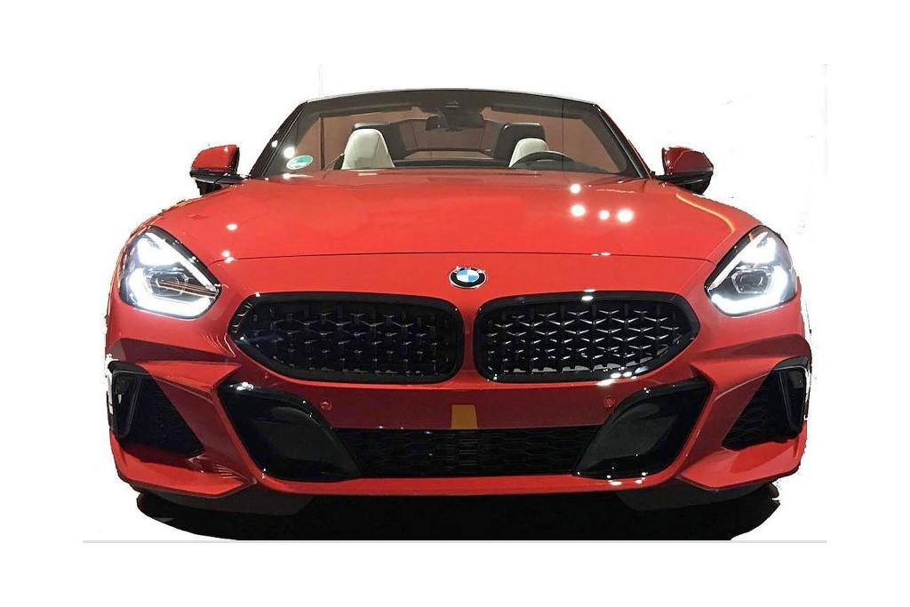 Leaked New Bmw Z4 To Keep Concept Car Styling Motoring