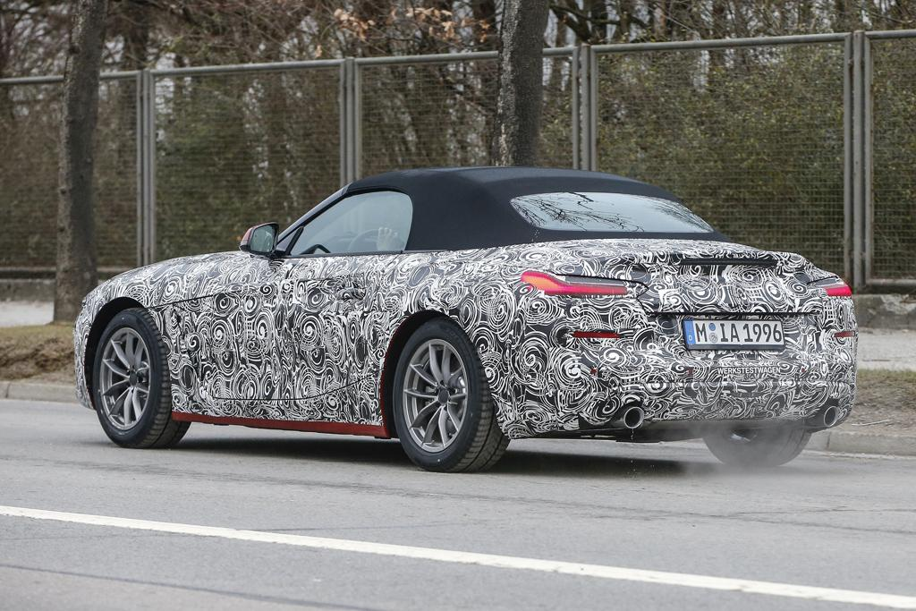 Spy Pics Next Gen Bmw Z4 Spotted Motoring Com Au